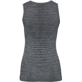 Odlo Performance Light Top Cuello Barco Mujer, gris